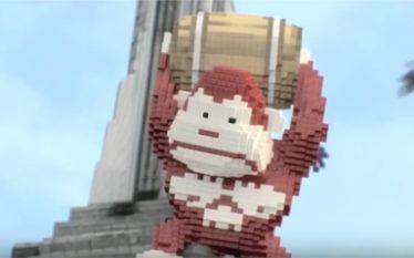 Fotograma del corto de animación Pixel