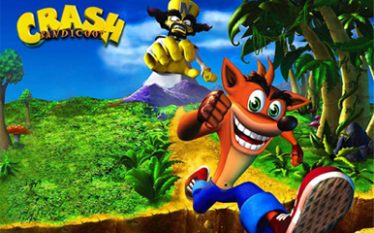 Portada del juego Crash Bandicoot