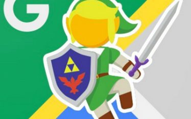 Icono Zelda google maps