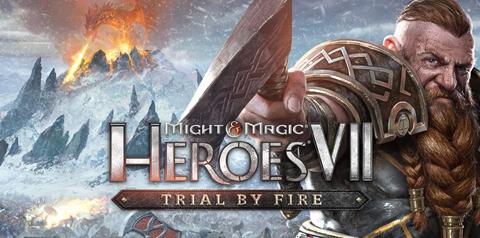 Trial by Fire nueva expansión Might & Magic Heroes VII