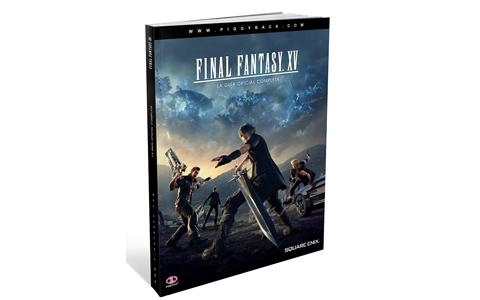 La Guía oficial completa de Final Fantasy XV