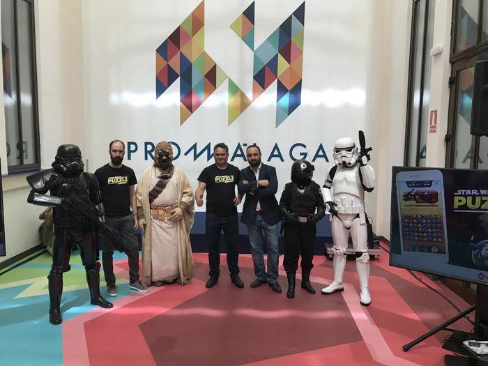 """SpainPresentación del """"casual"""" de Star Wars made in Spain"""