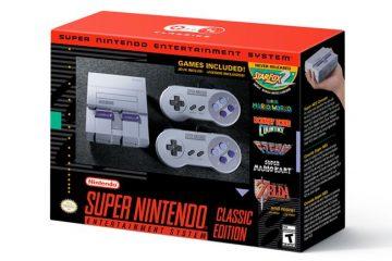 Super Nintendo Classic Mini Edition