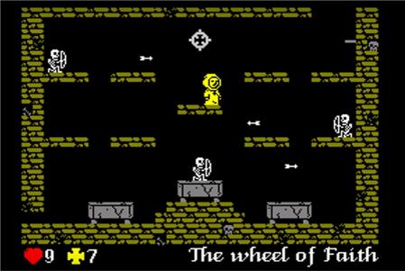 L´Abbadie des Morts pantalla de juego