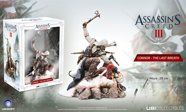 Figura Connor 'The Last Breath' Assassin's Creed