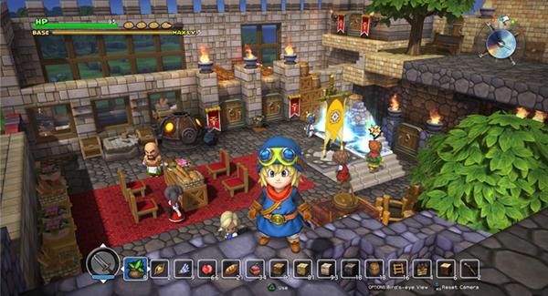 Dragon Quest Builders pantalla