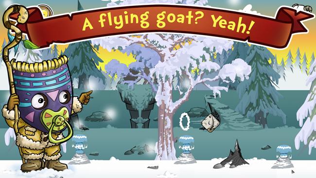 Oh my Goat pantalla del juego