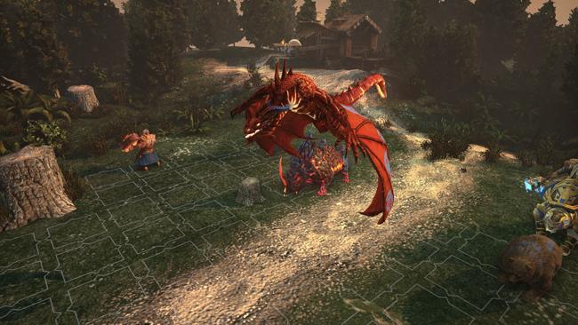 Trial by Fire captura de pantalla del juego