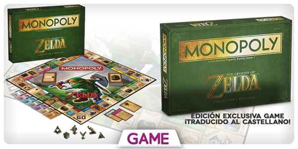 Monopoly The Legend of Zelda GAME