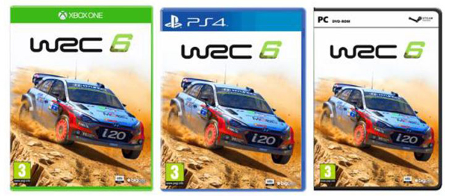 WRC 6 -Portada