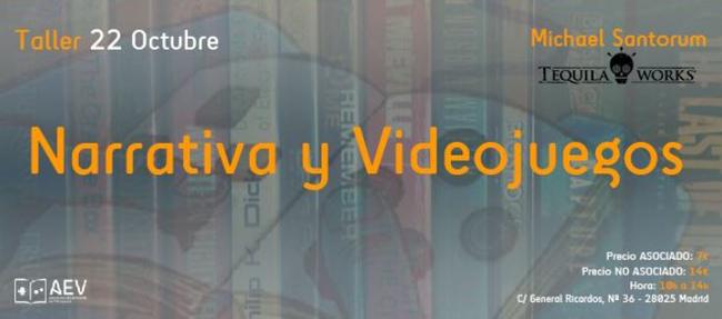 Taller sobre Narrativa y Videojuegos
