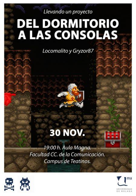 Del dormitorio a las consolas - Desarrollo de videojuegos