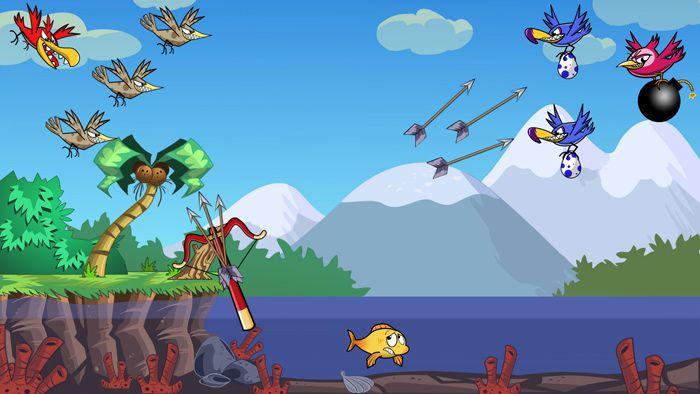 Arrows and Sparrows juego de acción y puzle