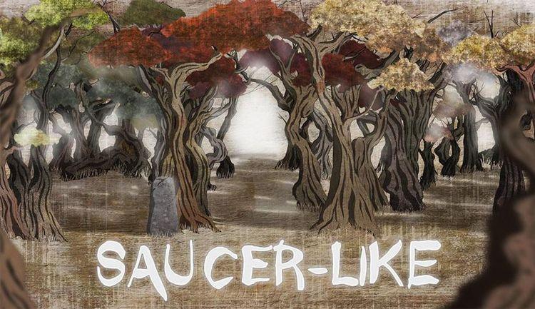 Saucer-Like aventura gráfica