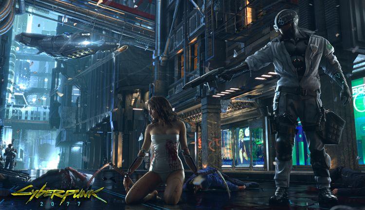 E3 2017 - Cyberpunk 2077