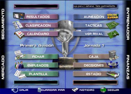 PC Fútbol 5 - De las mejores versiones versiones del simulador deportivo para PC