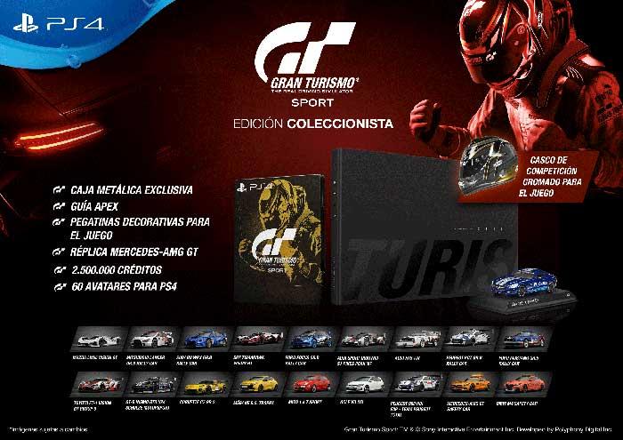 Gran Turismo Sport Edición Coleccionista