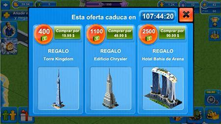 Juegos de construir ciudades para Android