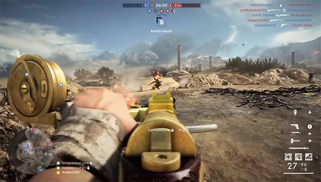 Battlefield es una alternativa a call of duty