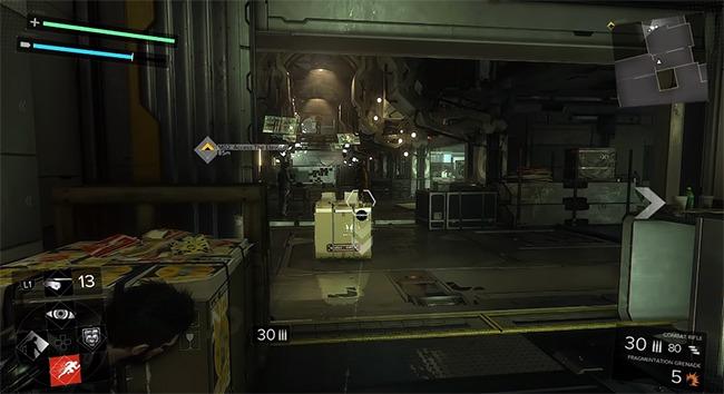 Deux Ex Mankind Divided juego como battlefield