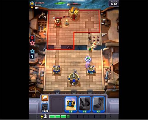 Chaos Battle League juego parecido a clash royale