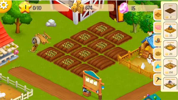 Dairy Farm juego igual que Hay Day