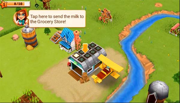Farm Story 2 es un juego como Hay Day