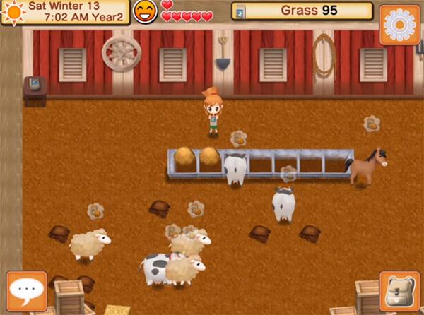Harvest Moon Seed of Memories juego parecido a Hay Day