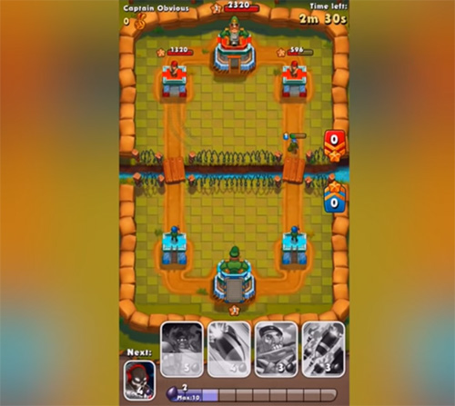 Jungle Clash es un juego parecido a Clash Royale
