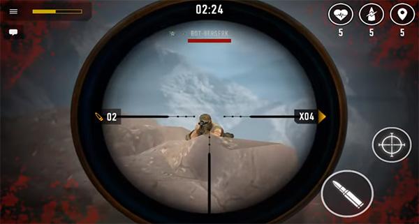 Sniper Arena es un juego como Rainbow Six Siege para android