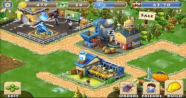 Township juego similar a Hay Day