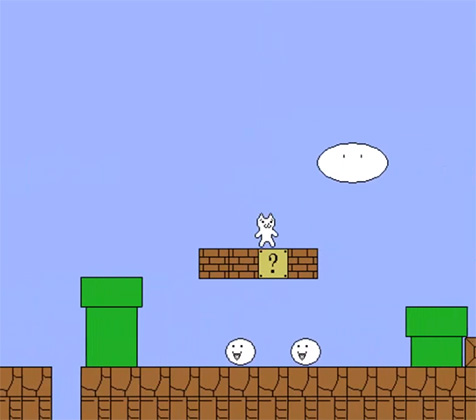 Gato Bros juego parecido a Mario Bros