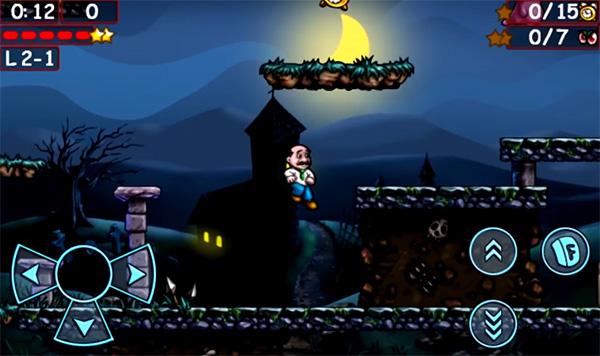 Giovanni's Nightmare juego parecido a Mario Bros