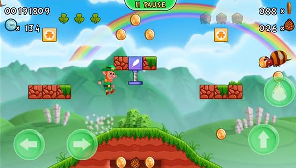 Lep´s World 3 juego como Mario Bros