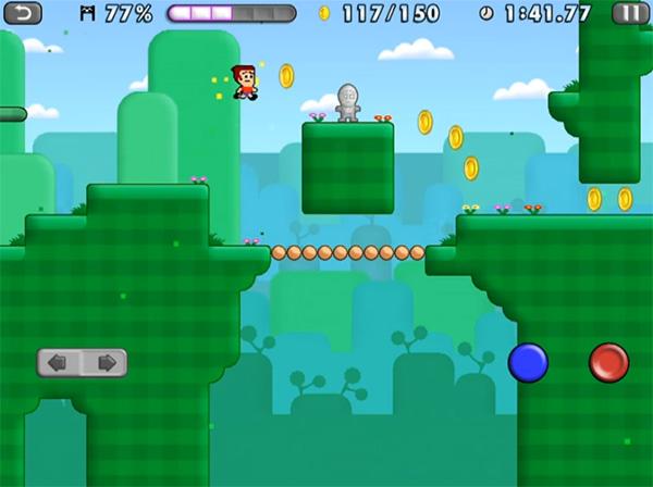 Mike Shorts juego del estilo a Mario Bros