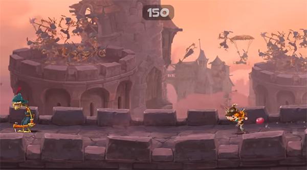 Rayman Legends alternativa a Mario Bros