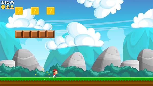 Super Plumber Run alternativa a Mario Bros para Android