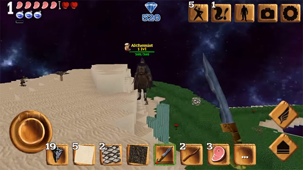 Block Story es un juego similar a Minecraft para Android