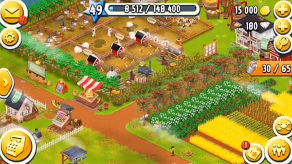 Hay Day es uno de los mejores juegos de granjas para android