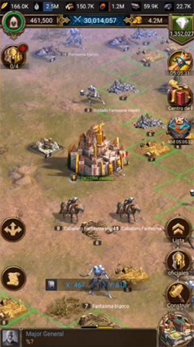 Rises of Empires: Hielo y Fuego juego similar a Age of Empires en Android