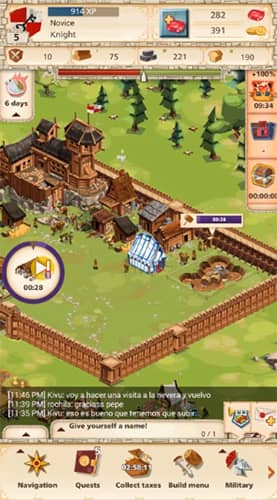 Empires Four Kingdom es juego como Lords Mobile