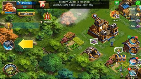 Lords of Empire es un juego como Lords Mbbile