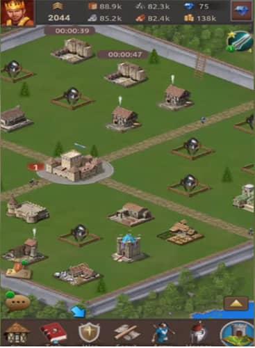 Lords of Kingdoms es un juego tipo Lords Mobile