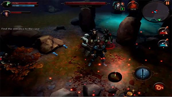 Arcane Legends es un juego parecidos a WoW para android