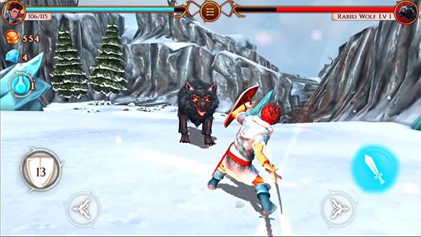 Beast Quest es un juego del estilo a wow para android