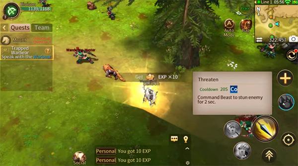 Era of Legends es un juego como wow en android