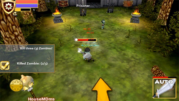 Pocket Legends es un juego similar a wow para android