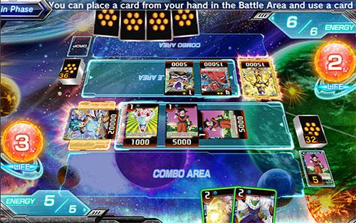 Dragon Ball Super Card Game es un juego de Dragon Ball para android