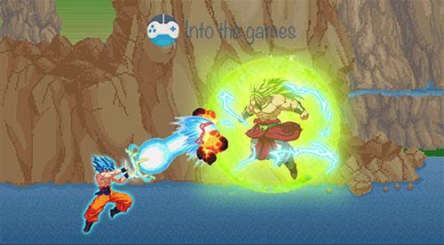 Dragon Ball Z Super Goku Battle es un juego de dragon ball z android