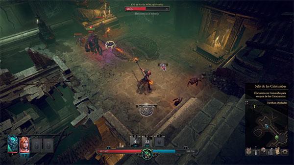 Shadows Awakening es un juego como Diablo